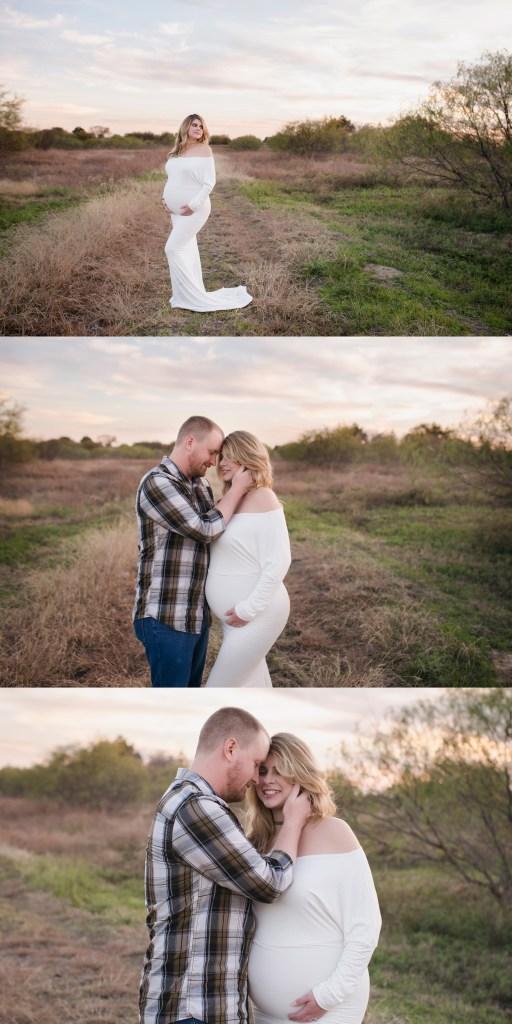 Modern Studio Pregnancy Photo Shoot Dallas Maternity Photographer CLJ Photography