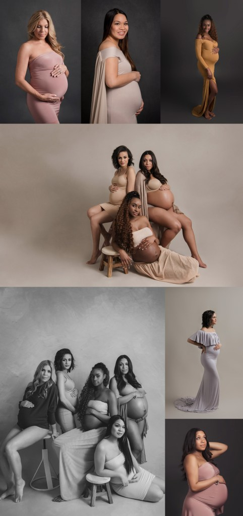 Women's History Month Dallas TX Pregnancy Photo Shoot CLJ Photography
