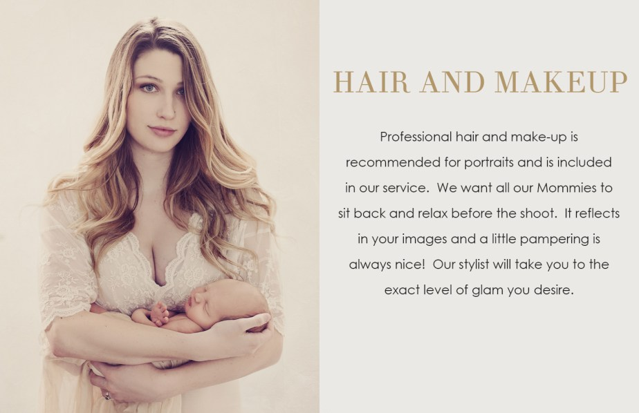 Pricing Details - Maternity and Newborn Portraits - CLJ