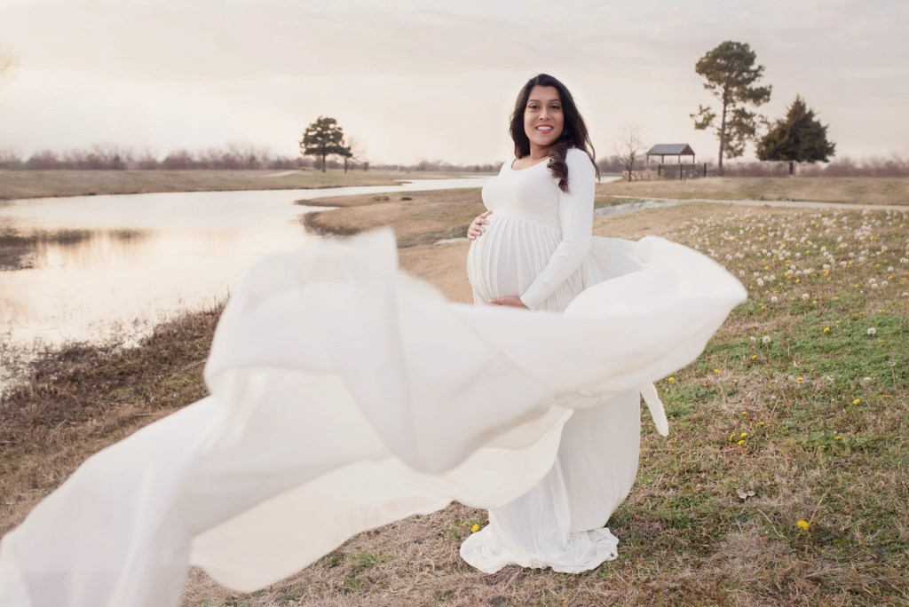 Indian Pregnancy Photo Shoot in Dallas CLJ Photography