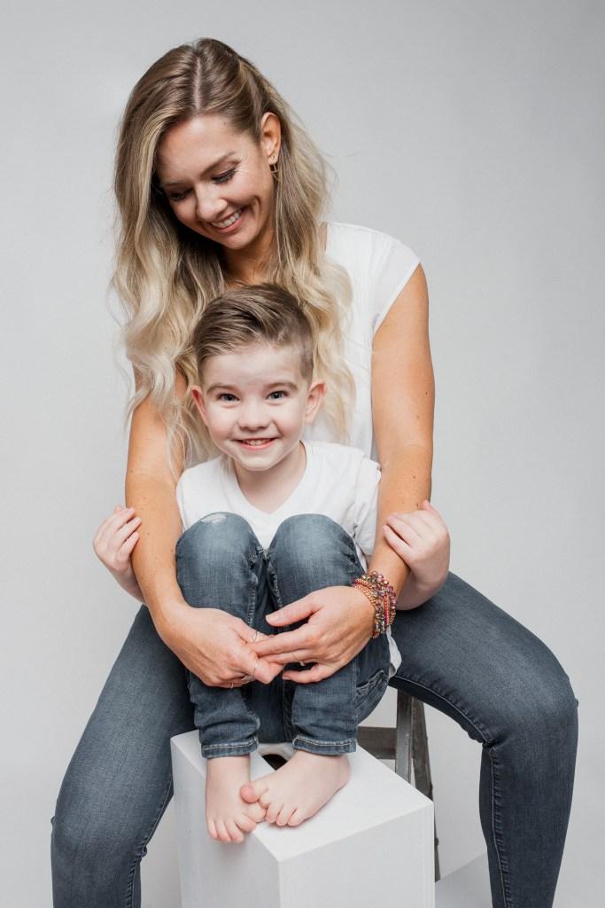 Mother's Day Texas Photographer Frisco Family Photographer Studio Portraits Motherhood CLJ Photography
