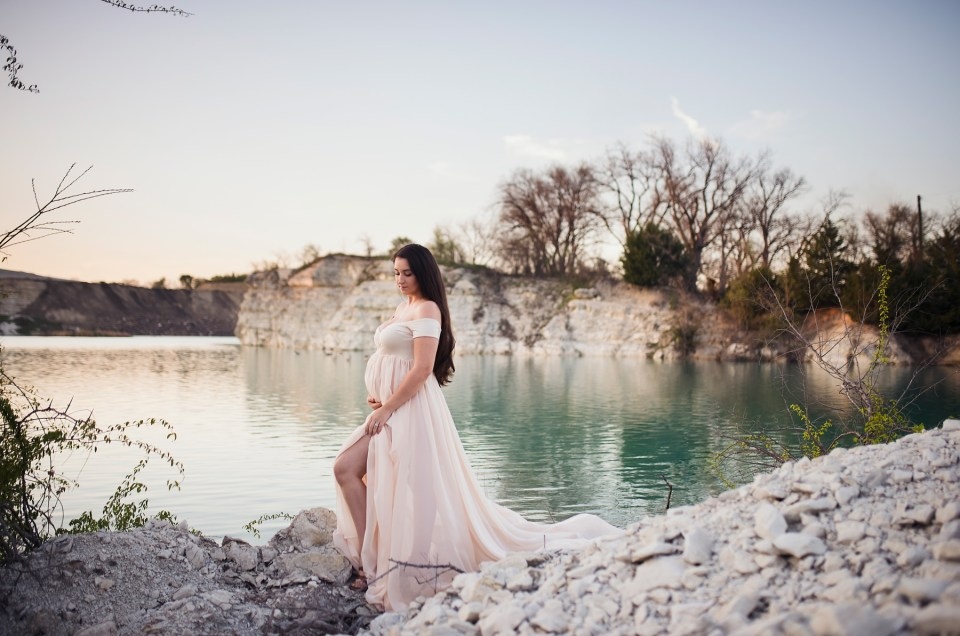 Texas Maternity Session CLJ Photography Dallas TX