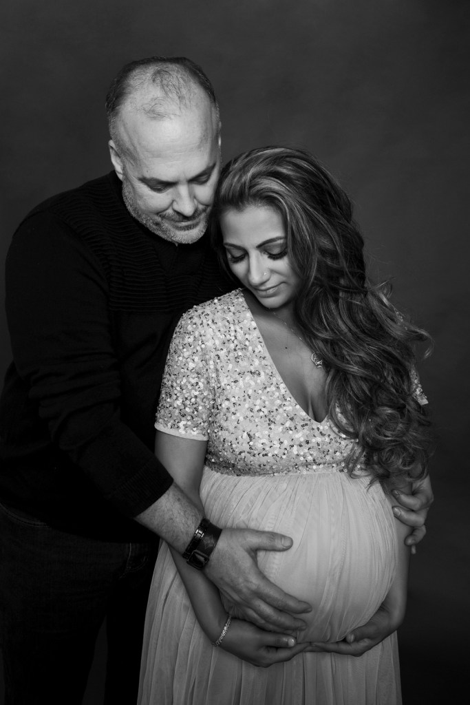 Maternity photo Studio in Dallas CLJ Photography