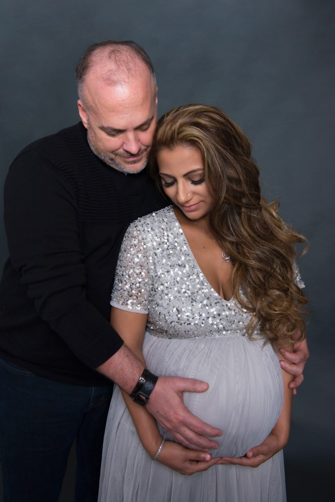 Maternity photo Studio in Dallas CLJ Photography
