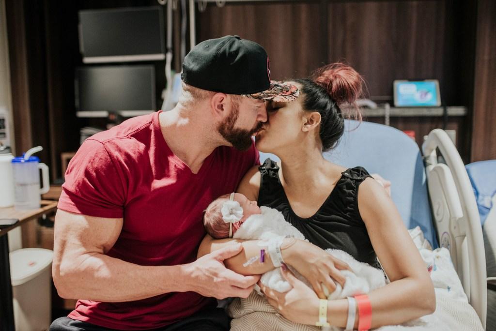 Frisco Hospital Newborn Photo Shoot CLJ Photography