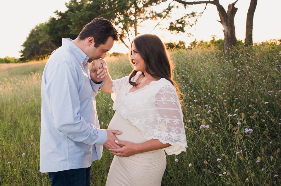 field maternity shoot texas pregnancy photographer maternity gowns dallas CLJ Photography