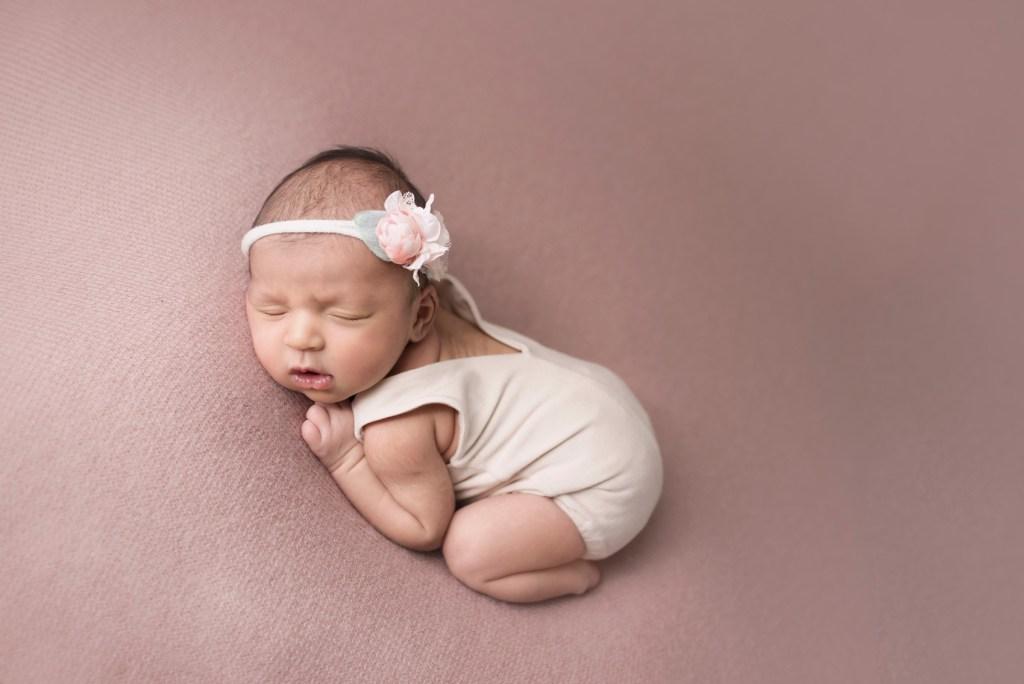 Sleepy Baby Portraits Indian Newborn Photo Shoot_CLJ Photography Studio Newborn Photo Shoot Frisco TX