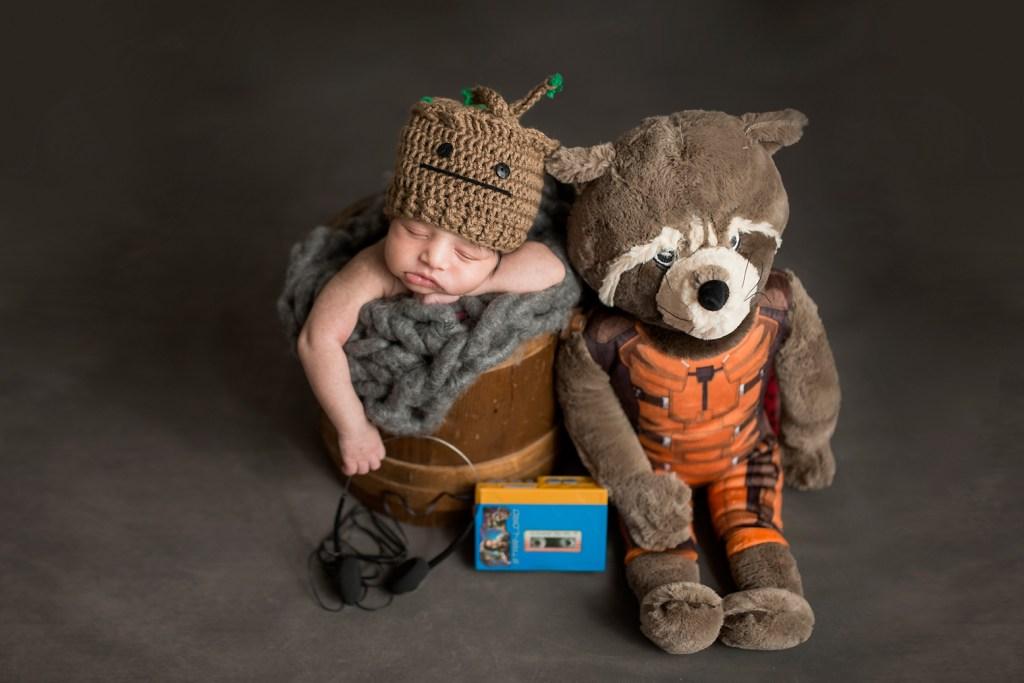 Baby Portraits - I am Groot - Dallas Newborn Photographer - CLJ Photography