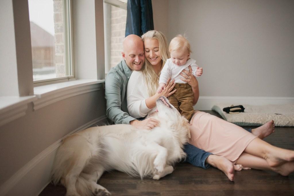 The Babymoon Photographer, fur babies, dallas newborn photographer, newborn photo shoot, CLJ Photography