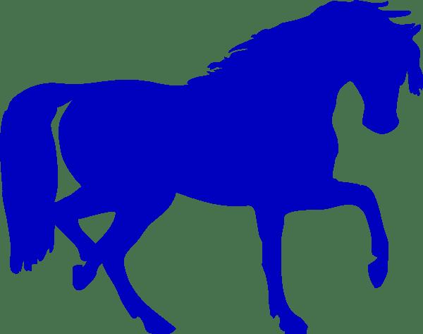 Knight On Horseback Outline