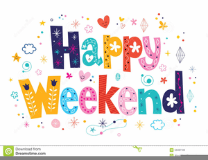 Image result for wonderful weekend clipart