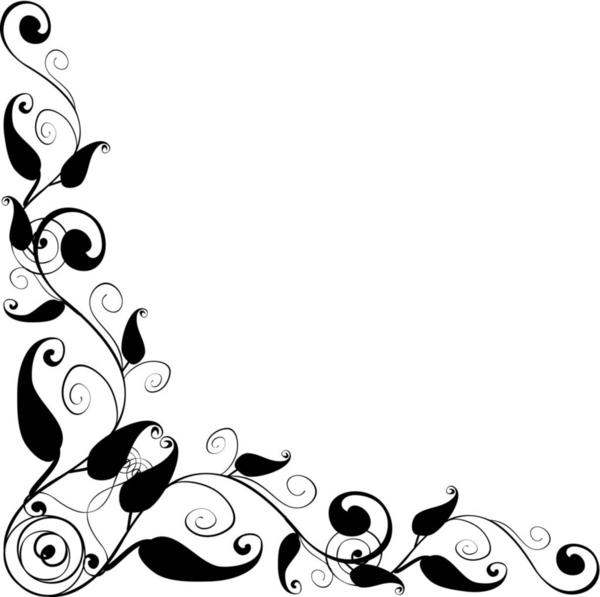 Download Floral Design Corner E | Free Images at Clker.com - vector ...