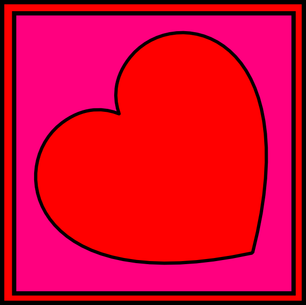Valentines Day Potholder Clip Art At Vector