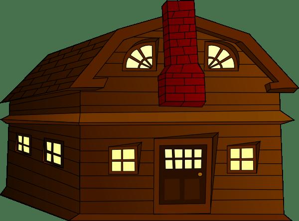 Halloween Horror House Clip Art at Clker.com - vector clip ... (600 x 444 Pixel)