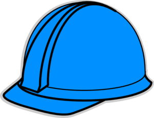 Blue Hard Hat Clip Art At Vector Clip Art
