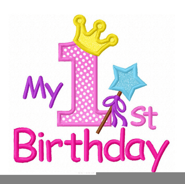 Minnie Mouse First Birthday Clipart Free Images At Clker