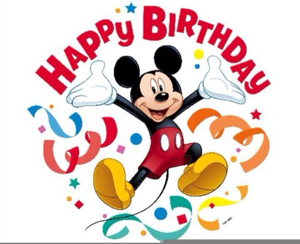 Disney Clipart Birthday Baby Mickey Mouse Party Free