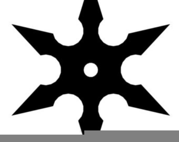 Ninja Stars Clipart | Free Images at Clker.com - vector ... (600 x 476 Pixel)