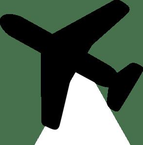 Airplane Clip Art at Clker.com - vector clip art online ... (294 x 298 Pixel)