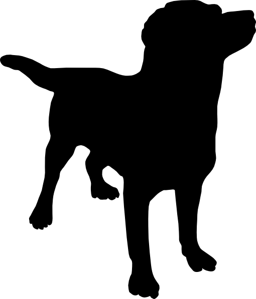 Labrador Black Dog Clip Art At Vector Clip Art