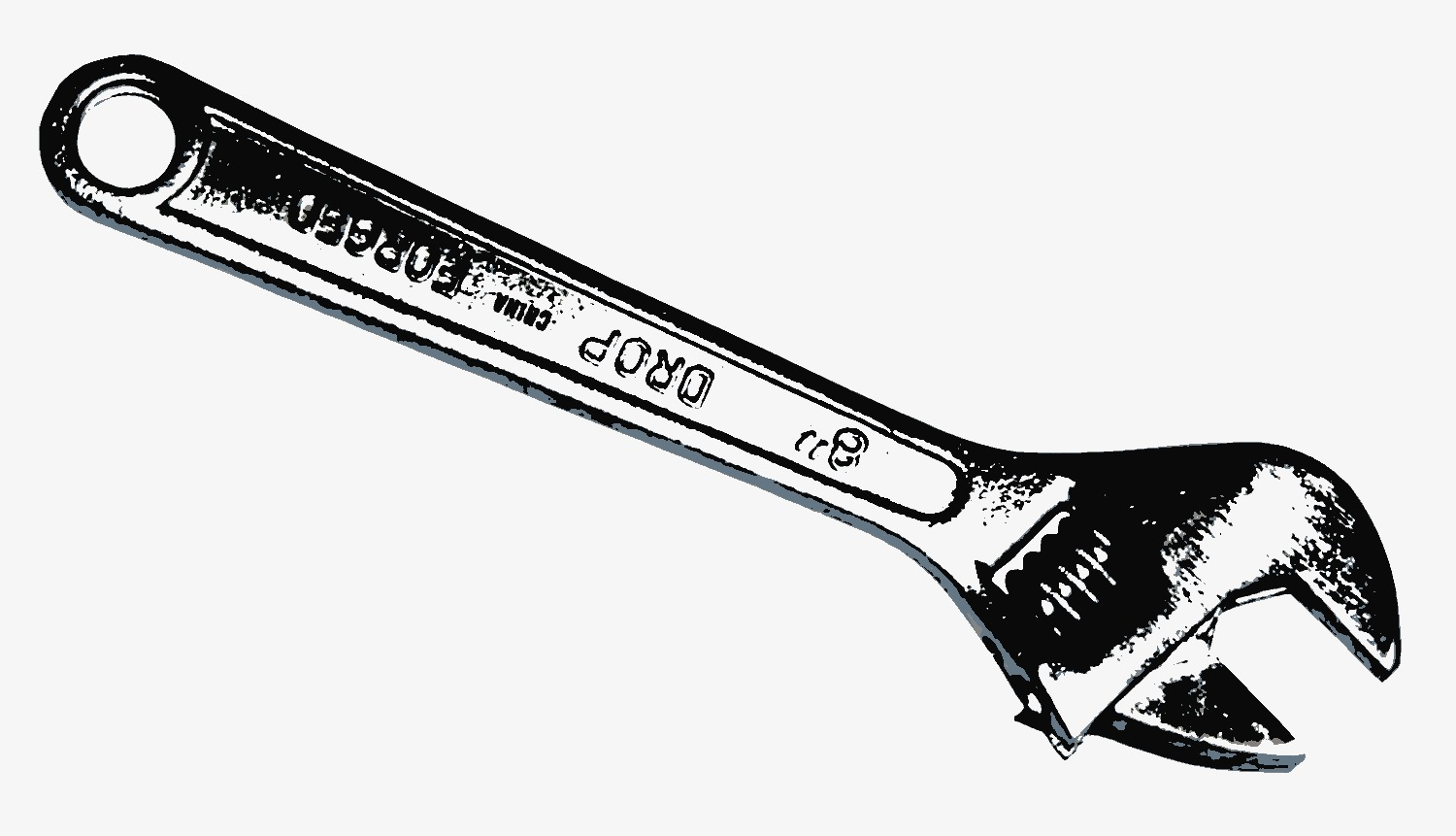 Adjustable Wrench Free Images At Clker