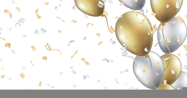 Gold Balloons Clipart Free Images At Clker Com Vector