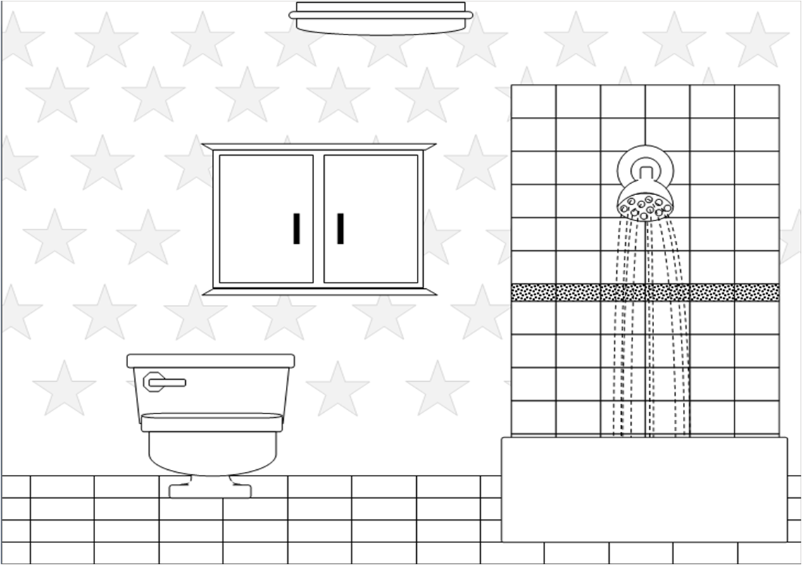 Bathroom Bw Free Images At Clker