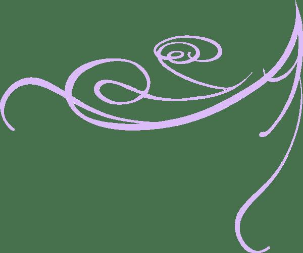 Decorative Swirl Purple Clip Art At Vector