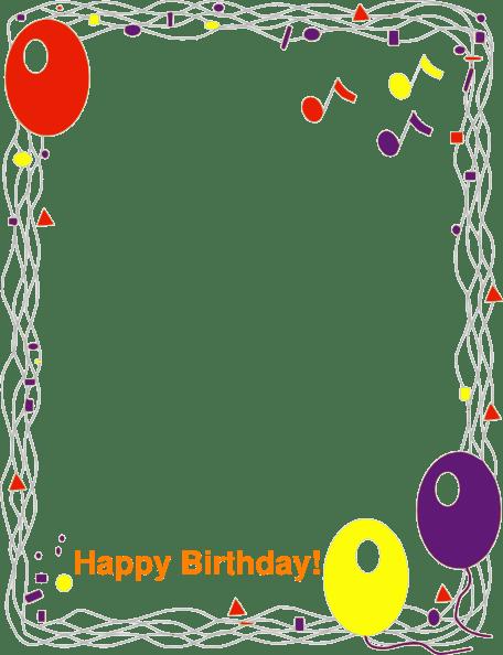 Invitation Note Birthday Party