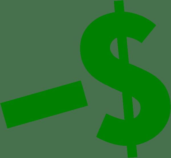 Dollar Clip Art at Clker.com - vector clip art online ... (600 x 555 Pixel)