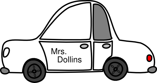Car Outline With Large Front Window Paratus Clip Art at ... (600 x 318 Pixel)