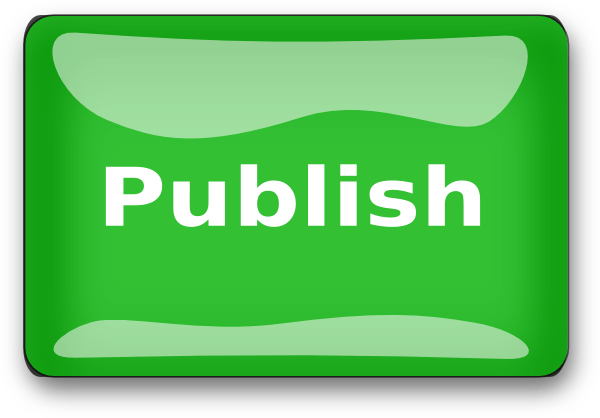 Image result for publish clipart