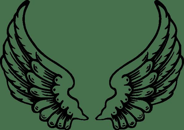 angel wings clip art at clker com vector clip art online royalty