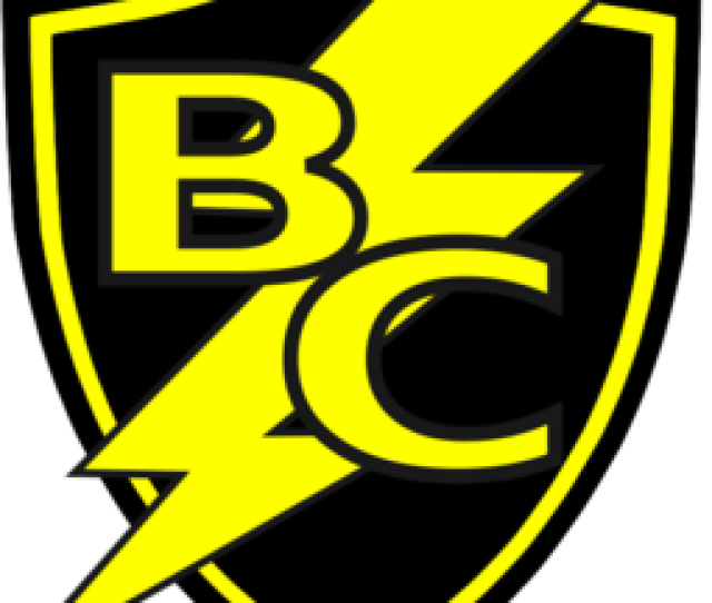 Bc Lightning Bolt Shield Clip Art