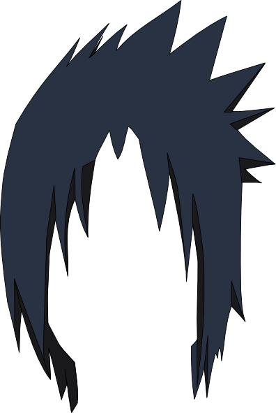 Sasuke Hair Lol Clip Art At Clker Com Vector Clip Art