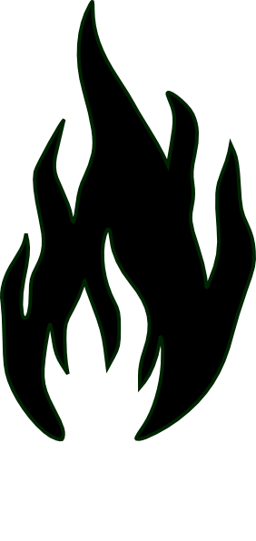 Fireplace Clip Art Silhouette