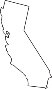 Download California State Outline 1 Clip Art at Clker.com - vector ...