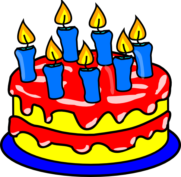 The Bday Clip Art At Clker Com Vector Clip Art Online