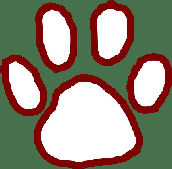 Bear Paw Clip Art at Clker.com - vector clip art online ... (600 x 592 Pixel)