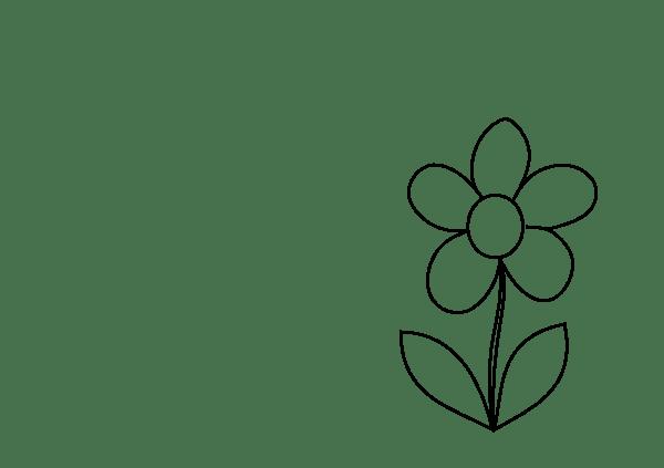 Small Simple Flower2 Clip Art At Clker Com Vector Clip