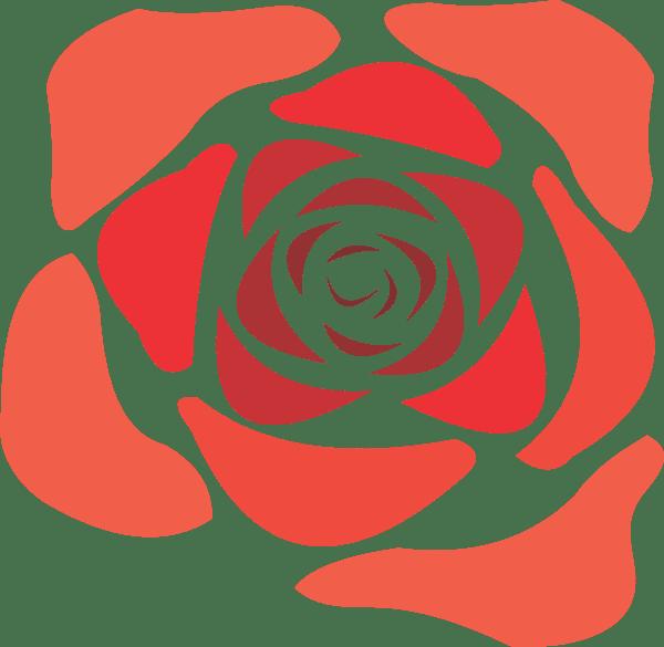 Rose Flower Clip Art At Vector Clip Art Online