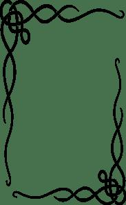 Leafy Frame Clip Art At Clker Com Vector Clip Art Online Royalty