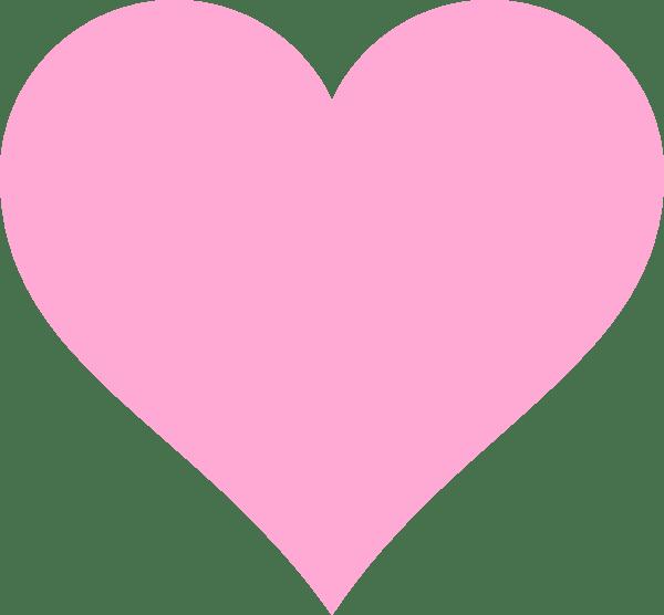 Download Pink Hearts Clip Art at Clker.com - vector clip art online ...