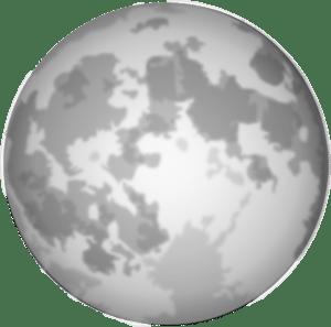bright full moon clip art at clker com vector clip art online