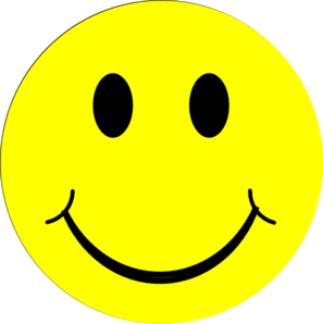 Yellow Happy Face Clip Art