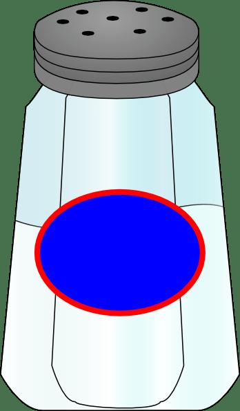 Salt Shaker, Red Oval Clip Art at Clker.com - vector clip ... (348 x 595 Pixel)