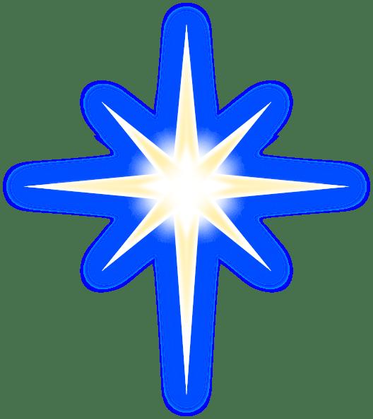North Star Clip Art at Clker.com - vector clip art online ... (528 x 594 Pixel)