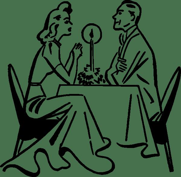Romantic Dinner Clip Art at Clker.com - vector clip art ... (600 x 586 Pixel)