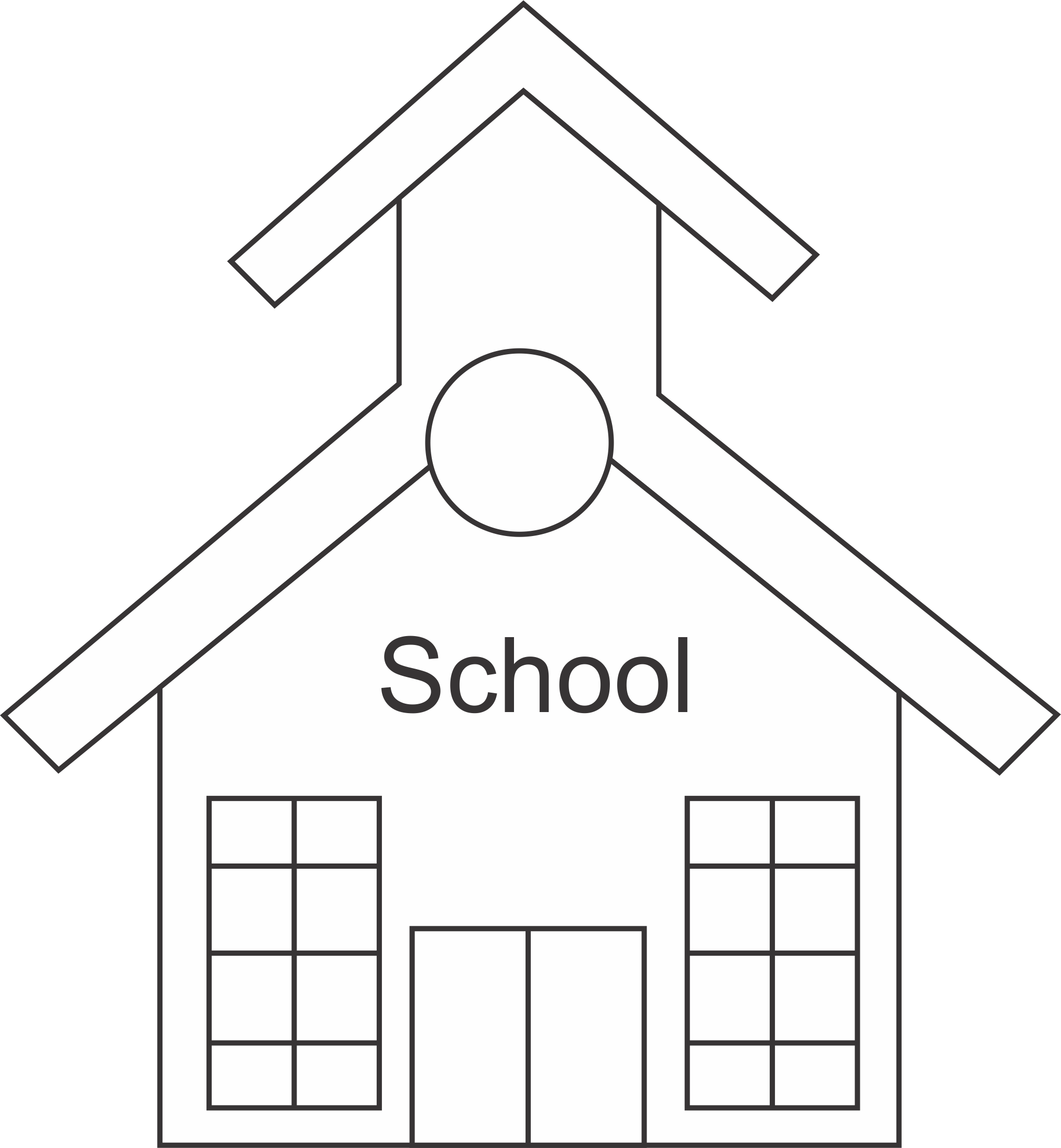 School House Md Free Images At Clker