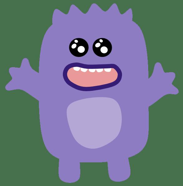 Purple Monster Clip Art At Vector Clip Art